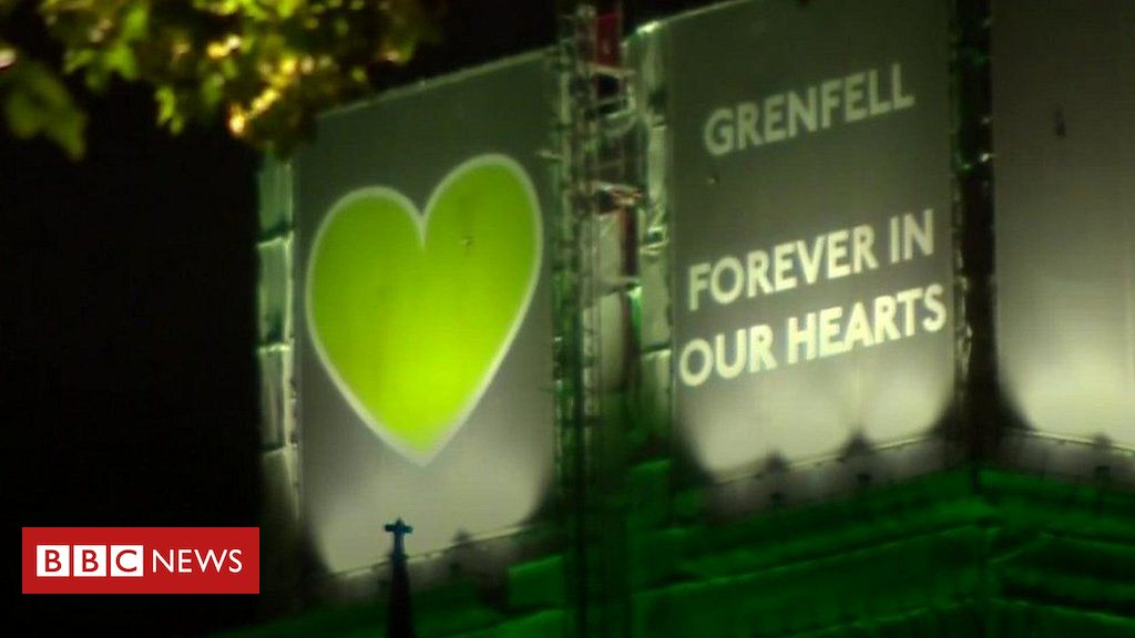 107384456 p07d61fr - Grenfell Tower fire: Survivors and families mark second anniversary