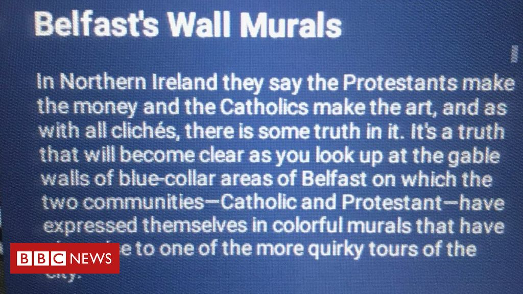 107384647 airline1 - Fodor's Travel removes 'offensive' Belfast murals guide