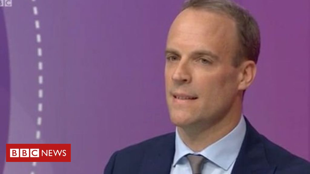 107448262 raab - Tory leadership: Dominic Raab knocked out in second vote