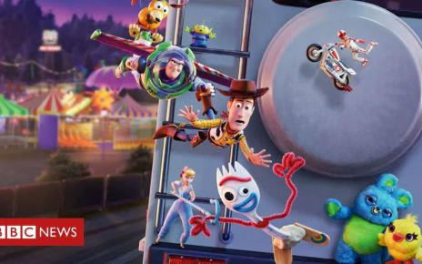 107513105 toy story 4 disney - Toy Story 4 breaks global box office record for animation