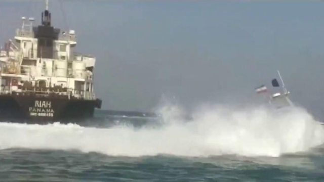 1563484565 497 US shot down Iranian drone in Strait of Hormuz says Trump - US shot down Iranian drone in Strait of Hormuz, says Trump