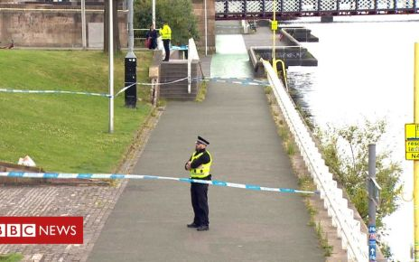 107740450 clydebody0407 frame 3428 - Man dies in River Clyde jump after running from police