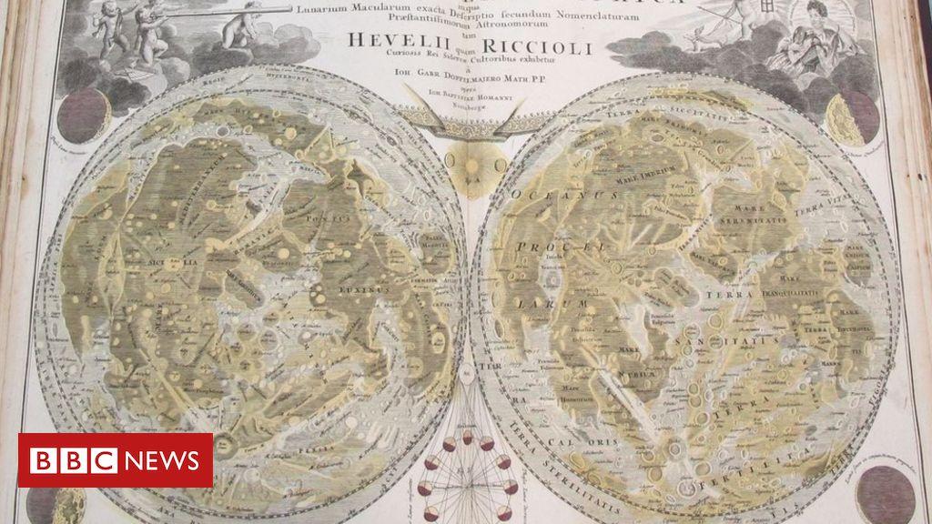 107848332 map moon skymap - Moon landings: Apollo 11 celebrated in Cambridge University maps