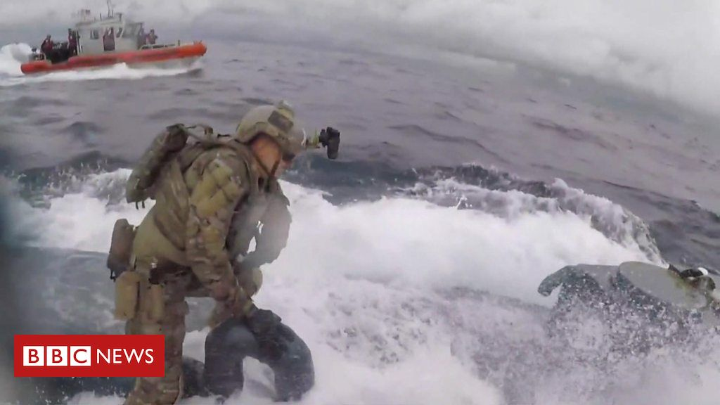 107849519 p07gqft3 - The moment a US Coast Guard raided a submarine