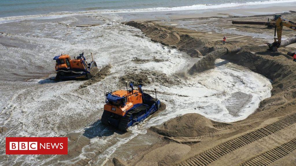 107919703 dji 0128 - Vast sand scheme to protect Norfolk coast