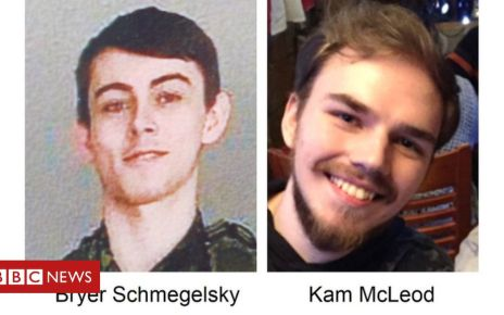 107978436 67370 bryers and kamm photo - Canada killings: Police says teen suspects may be hiding in woods