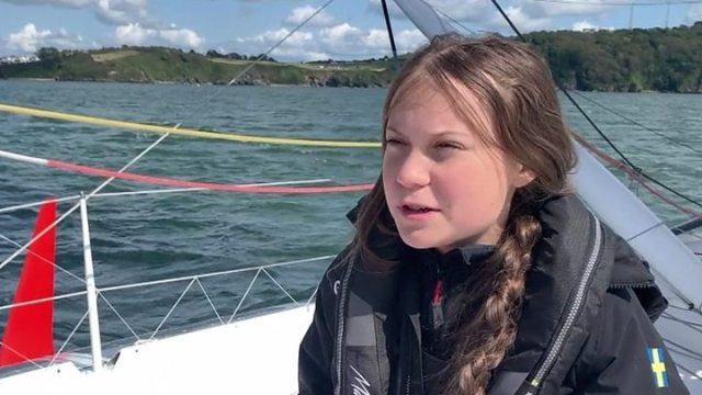 1565797746 821 Greta Thunberg Climate change activist sets sail from Plymouth - Greta Thunberg: Climate change activist sets sail from Plymouth