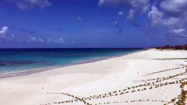 Beach in Barbuda
