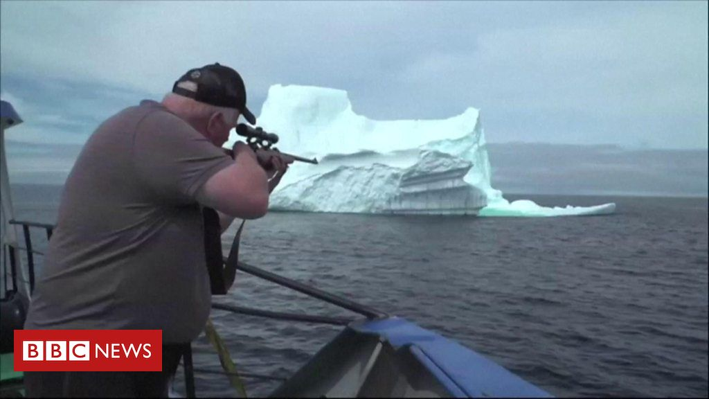 108226917 p07jz64w - Do these icebergs produce the worlds purest water?