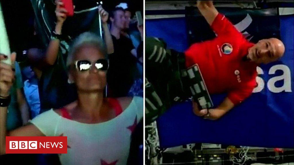 108306250 p07kkh94 - Astronaut Luca Parmitano plays DJ set from International Space Station