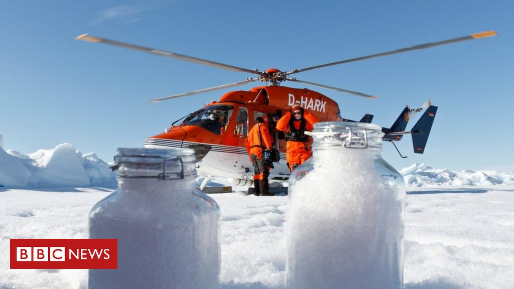 108312371 mediaitem108312370 - Plastic particles falling out of sky with snow in Arctic
