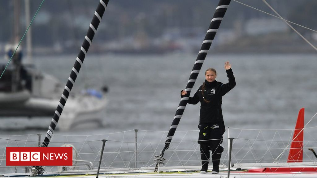 108314805 hi055844190 - Greta Thunberg: Climate change activist sets sail from Plymouth