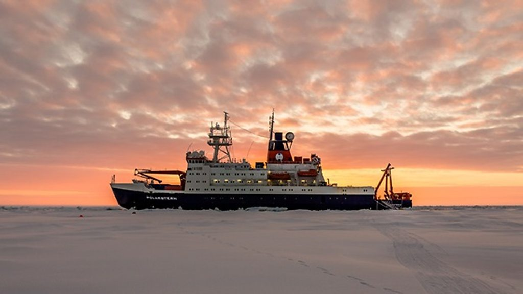 p07nskw6 - Climate change: Arctic expedition to drift in sea-ice for a year