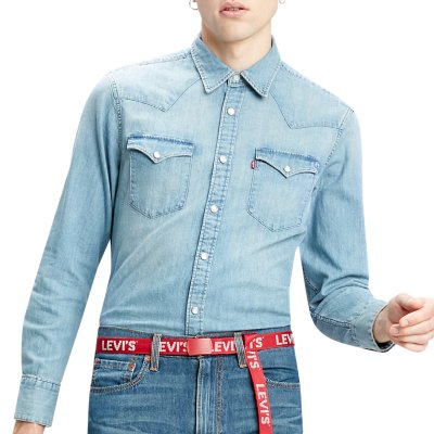 Chemise Manches Longues Homme Barstow Western Standard Levis Intersport