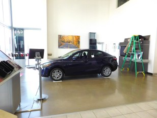 Scion Showroom Before