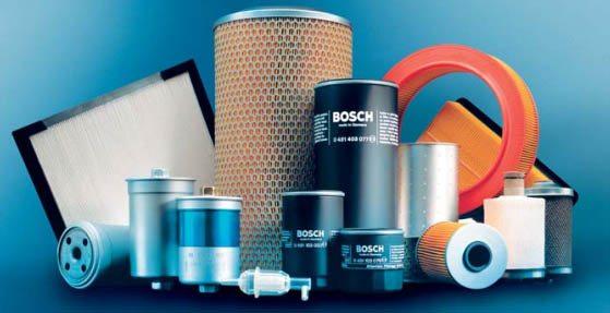 топливные фильтры фирмы Bosch. фото