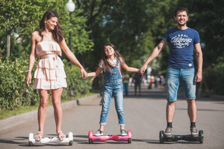 гироскутер - гаджет для всей семьи