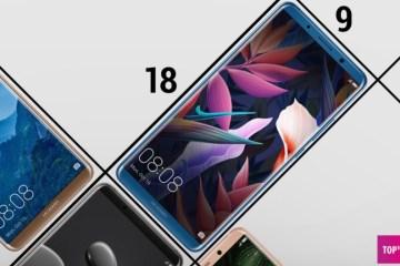 Хорошие смартфоны с дисплеем 18:9 - ТОП-10