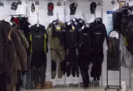 дайвинг магазин
