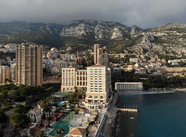 Фотография из Mavic Air, снятая во время шоу в Монако