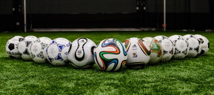 выбрать футбольный мяч виды