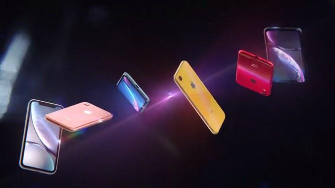 разноцветные айфоны