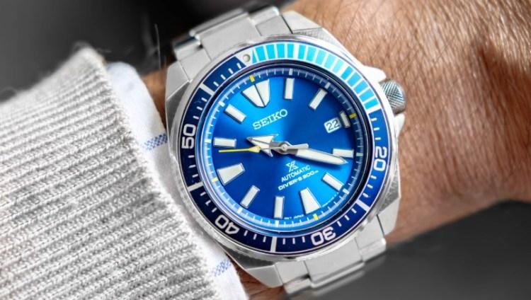 Seiko коллекция The Great Blue.