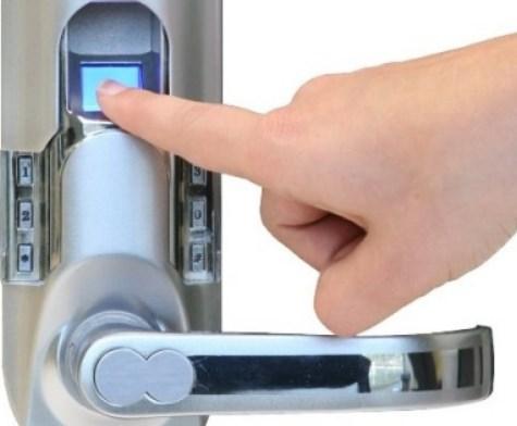 Электромеханические замки биометрические