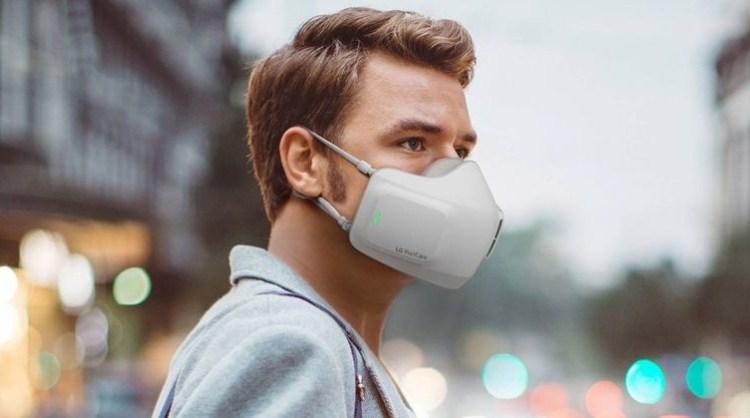 Умная дыхательная маска от LG