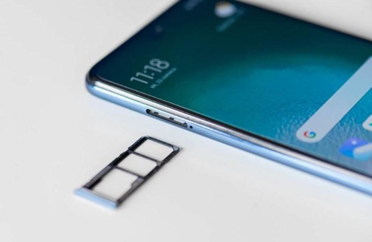 Redmi Note 9 Pro слот для флешки и сим
