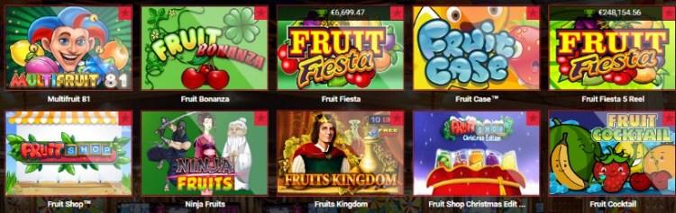 лучшие фруктовые автоматы slotor
