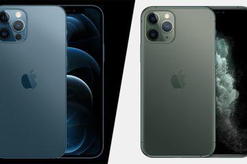 Отличия iPhone 12 Pro от iPhone 11 Pro