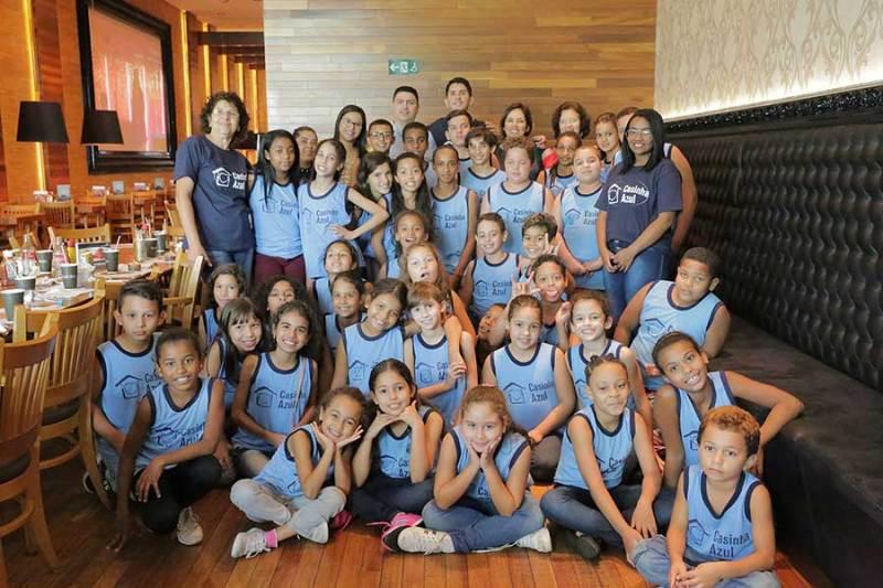 Madero reuniu 550 crianças e adolescentes para comemorar aniversário