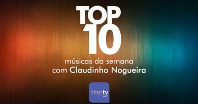 top 10 músicas da semana - Claudinho Nogueira