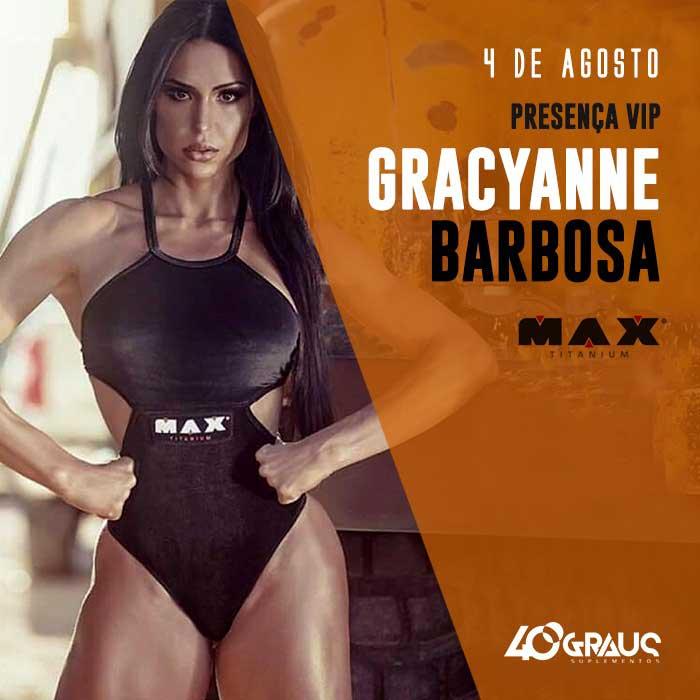 Loja de suplementos promove encontro com Gracyanne Barbosa em Ribeirão Preto