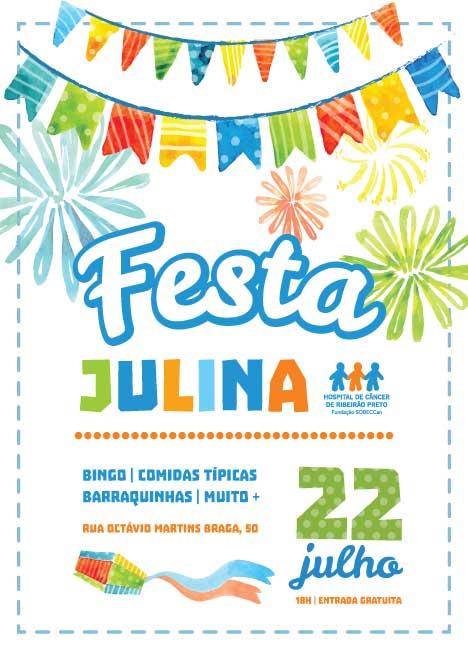 Hospital de Câncer de Ribeirão Preto realiza festa julina para arrecadar fundos para a entidade