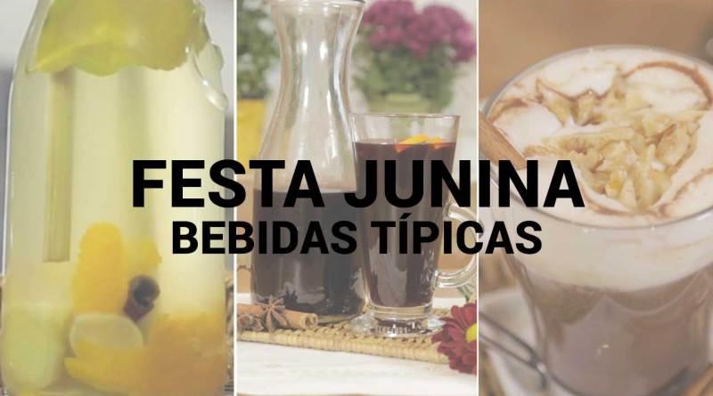 Bebidas típicas de Festa Junina