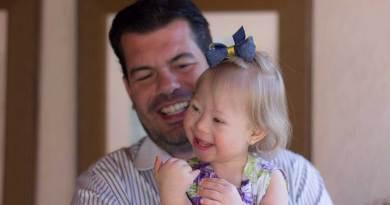 Empresário supera a perda e comemora Dia dos Pais com Sofia