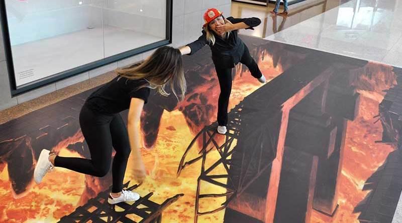 Exposição de arte em 3D está pela primeira vez em Ribeirão Preto