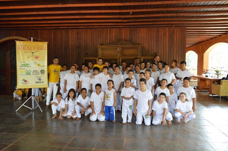 """""""Capoeiristas do Amanhã"""" promove primeiro workshop"""