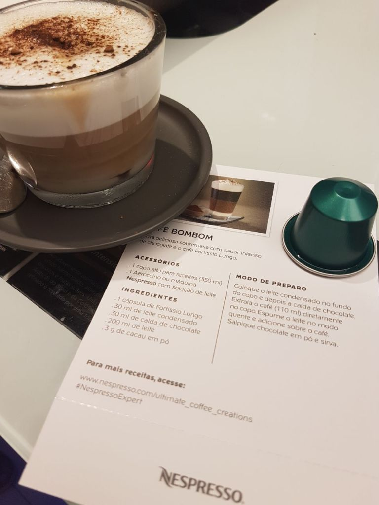 cafe bombom nespresso
