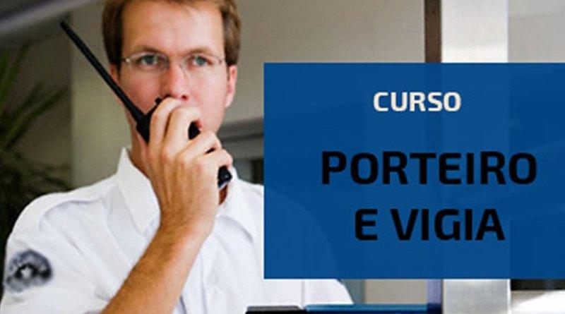 Curso de Porteiro e Vigia tem inscrições abertas a partir de segunda-feira (04/09)