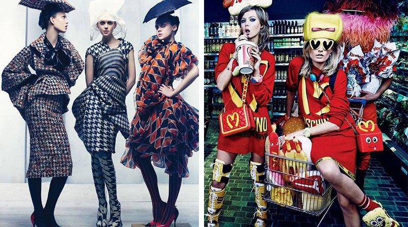 Moda Conceitual x Moda Comercial