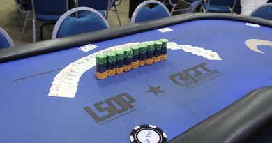 Competições de nível estadual e nacional em megaevento de pôquer