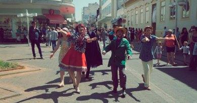 Grupo de Teatro de Cravinhos se apresenta no Festival de Jundiaí