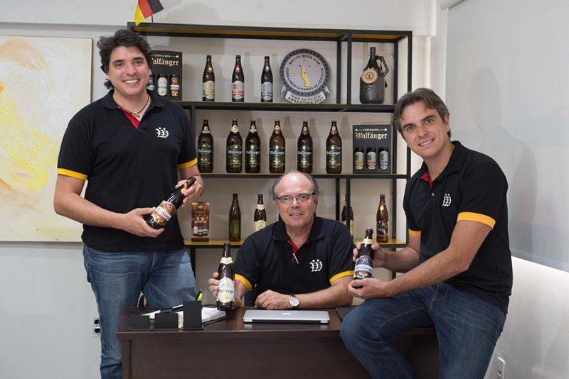 Caio, Augusto e Raoni Balieiro decidiram pela abertura do empreendimento devido a vocação, tradição e oportunidade de mercado