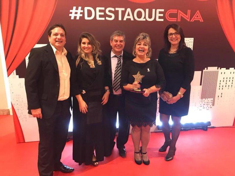 Unidades CNA de Ribeirão Preto recebem premiações em São Paulo
