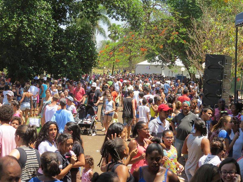 Aproximadamente 8 mil pessoas passaram pelo parque ecológico de Cravinhos