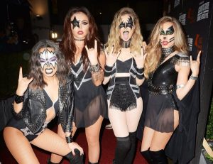O grupo Little Mix de banda Kiss