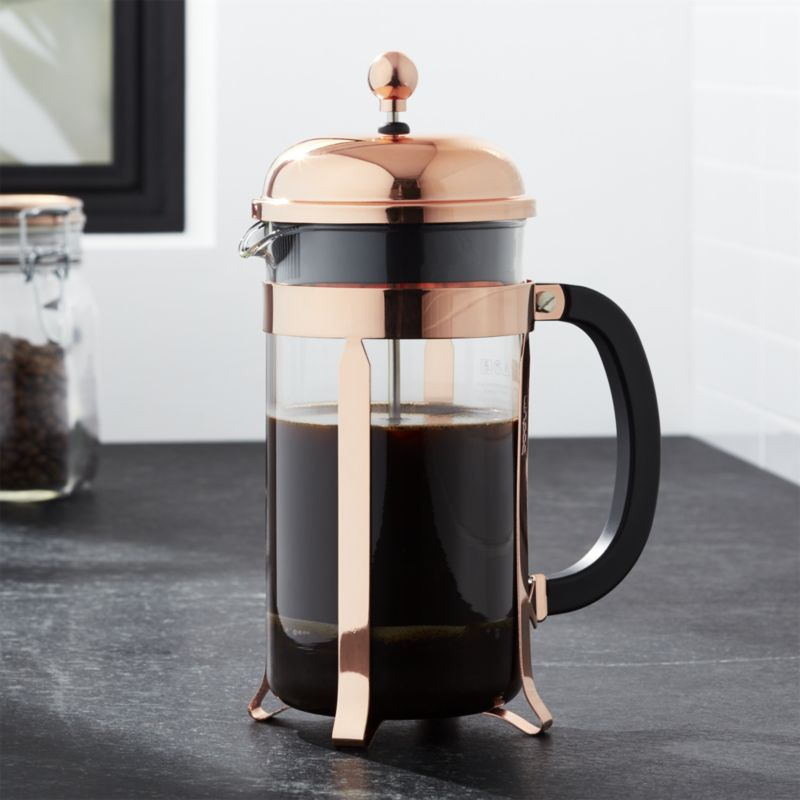 cafeteira french press